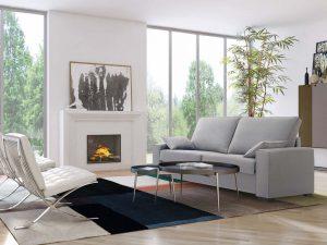 Sofá cama apertura italiana elegante y cómodo