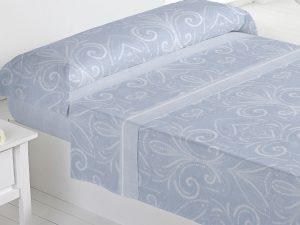 Juego sábanas Afrodita azul