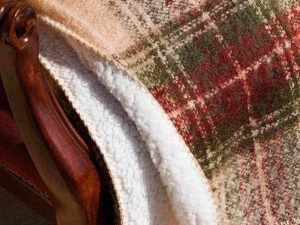 Plaid mohair Edimburgo