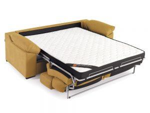 Sofá cama Alba con respaldo reclinable