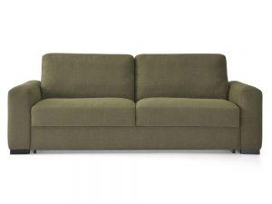 Sofá cama Clotilde apertura italiana con colchón de 18 cm