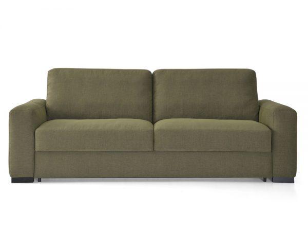 Sofá cama Matilde apertura italiana con colchón de 18 cm