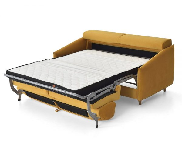 Sofá cama apertura italiana Morgana. Paso 5