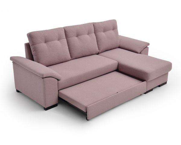Sofá cama chaiselongue Mark-Paso 2