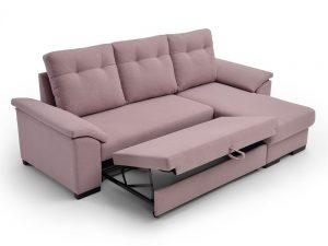 Sofá cama chaiselongue Mark-Paso 3